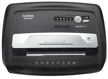 Aurora Au2040XA Paper Shredder review