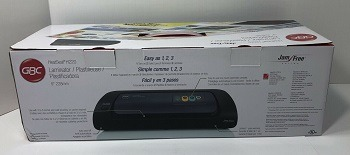 GBC Heatseal laminator review
