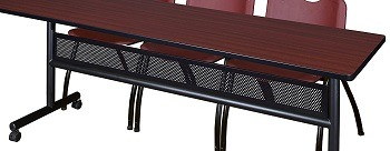 Regency Flip Top Mobile Training Table