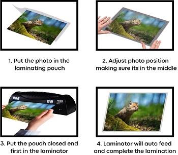 Texet (LMA4-V) A4 Laminator review