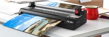 YE381 Thermal Laminating Machine Review