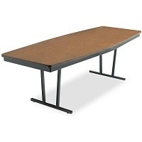 ARC 8' Boat Shaped Conference Table Picks