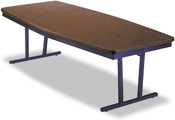 ARC 8' Boat Shaped Conference Table