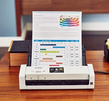 Brother Wireless Document Scanner ADS-1700W