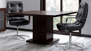 Ford Executive Square Modern Conference Table