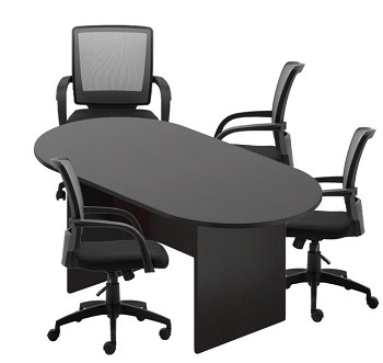 GOF 6ft Conference Table Black