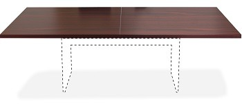 Lorell Chateau Conference Table Mahogany Review