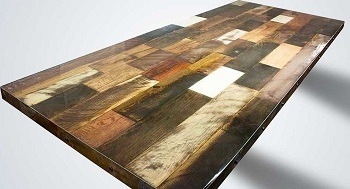Metal And Wood USA Reclaimed Table