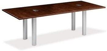 NBF Modern Conference Table Data Portss