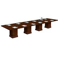 NBF Modular 16 Ft Rectangular Conference Table Picks