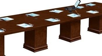 NBF Modular 16 Ft Rectangular Conference Table