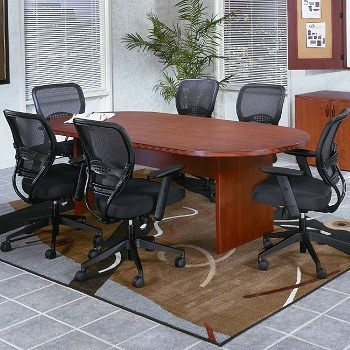 NBF Racetrack Conference Table