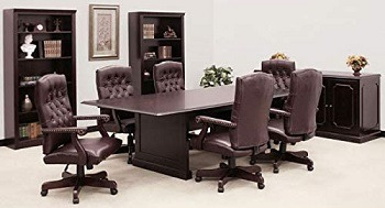 Office Pope Boardroom Table and Chairs Set
