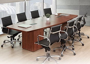 Office Pope Modern Boat Shaped Conference Table