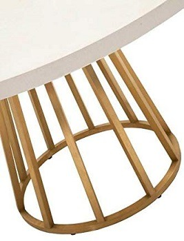 SI White Concrete Confrence Table Review