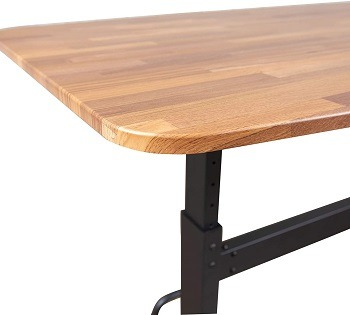 Stand Up Store Crank Height Adjustable Standing Conference Table Review