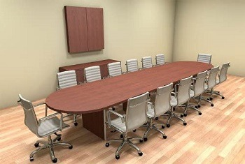 Utmost Furniture Racetrack Table