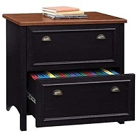 Bowery Hill 2 Drawer Lateral Wood File Cabinet picks