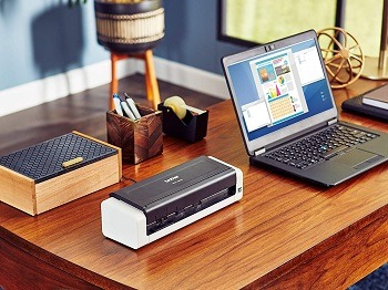 Brother Wireless Portable Compact Desktop Scanner, ADS-1250W review