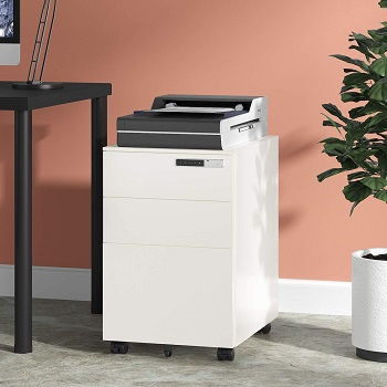 DEVAISE 3-Drawer Mobile File Cabinet review