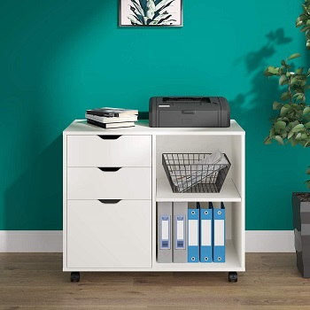 DEVAISE 3-Drawer Wood File Cabinet review