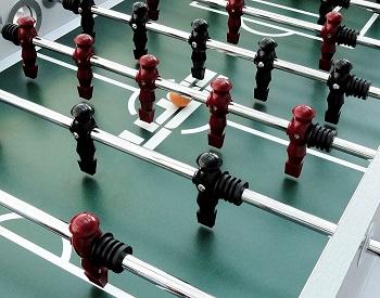 ESPN Net Attack Foosball Table