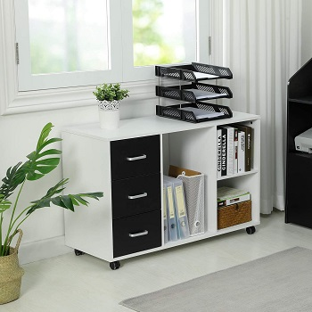 Itaar 3 Drawer Wood File Cabinet review
