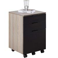 JJS 3 Drawer Rolling Wood File Cabinet picks