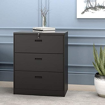 Modern Luxe Lateral Metal Storage