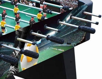Playcraft Sport Foosball Table with Folding Legs Review