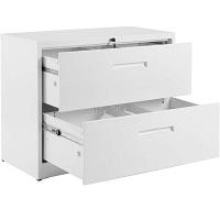 Purlove 2 Drawer White Lateral File Cabinett picks