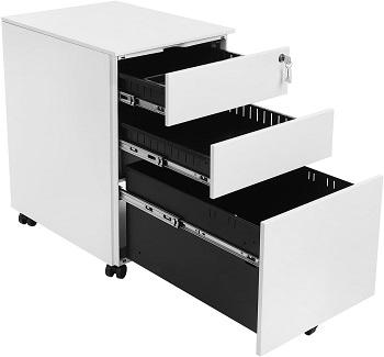 SONGMICS Steel File Cabinet