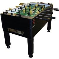 Tornado Black T-3000 3 Goalie Coin Op Foosball Picks