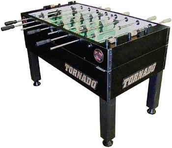 ornado Black T-3000 3 Goalie Coin Op Foosball
