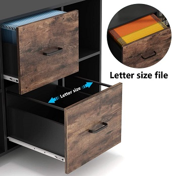 Tribesigns 2 Drawer Wood File review