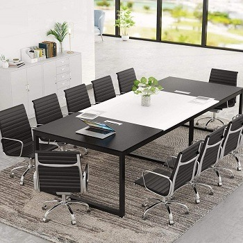 Tribesigns 8FT Rectangle Shaped Conference Table