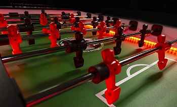 Warrior 8 Man Foosball Table Review