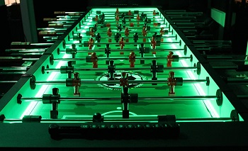 Warrior 8 Man Foosball Table