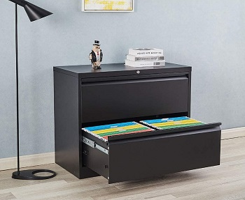 2 Drawer File Cabinet with picks