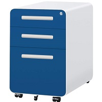 3-Drawer Filing Cabinet with picks