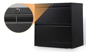 Aobabo homeoffice use Classic 2 Drawer review