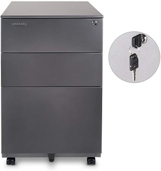 Aurora Modern SOHO Design 3-Drawer Metal review