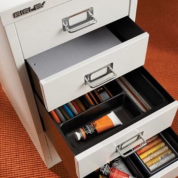 Bisley 8 Drawer Steel Under-Desk