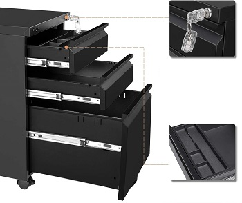 Bonnlo 3-Drawer Mobile review