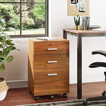 DEVAISE 3 Drawer Wood review
