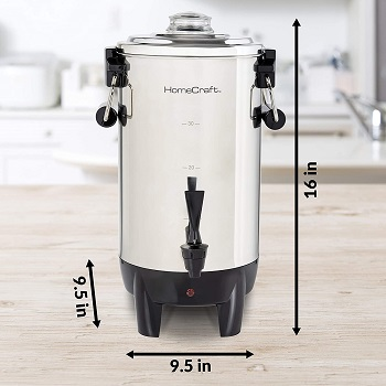 HomeCraft CU30SS Beverage Dispenser Picks Review
