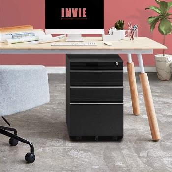 INVIE 3 Drawer File Cabinet
