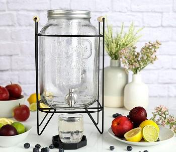 KitchentoolzGlass Beverage Dispenser