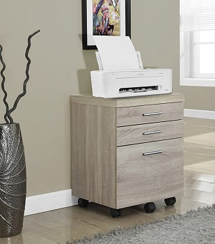 Monarch Specialties 3 Drawer review