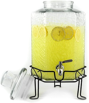 Redfern Glass Beverage Dispenser